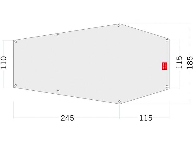 Tatonka PE Narvik 3 Floor Sheet 360x110/185cm